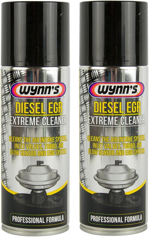2x Wynn 's Wynns Diesel EGR 3AGR Sistema de aire limpiador Motor Diésel 200ml