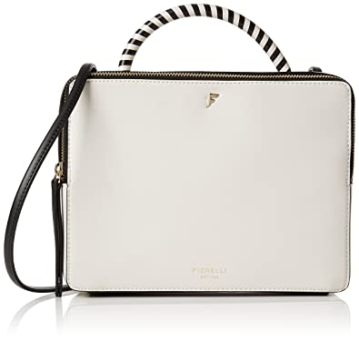 5e2b5db2ce6e Fiorelli Women s Rowan Cross-Body Bag White (mono)  Amazon.co.uk ...