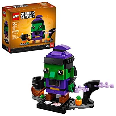 LEGO BrickHeadz Halloween Witch 40272 Building Kit (151 Pieces): Toys & Games