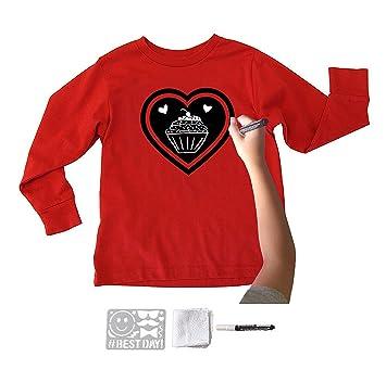Amazon.com: Chalk of the Town - Kit de camiseta de pizarra ...