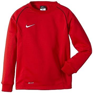 Nike Boys Found 12 Midlayer Sudadera de Fútbol de Manga Larga, Niños, Rojo Universitario/Negro / Blanco, S: Amazon.es: Deportes y aire libre