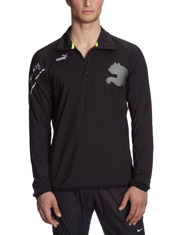Puma Herren Pullover Mid 1/2 Zip black 506187 03