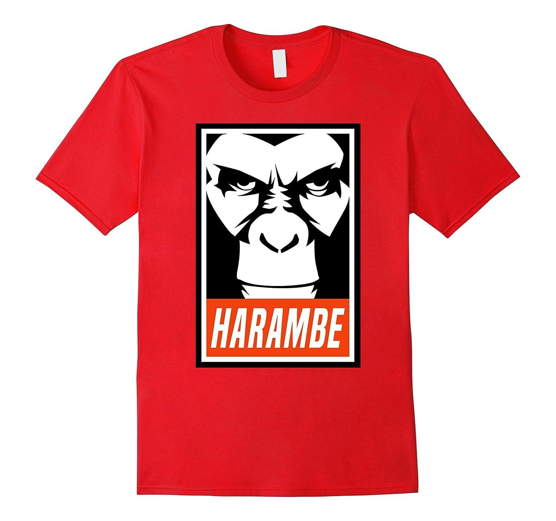 AW Fashions Harambe Gorilla-Support Harambe Premium T-shirt-BN