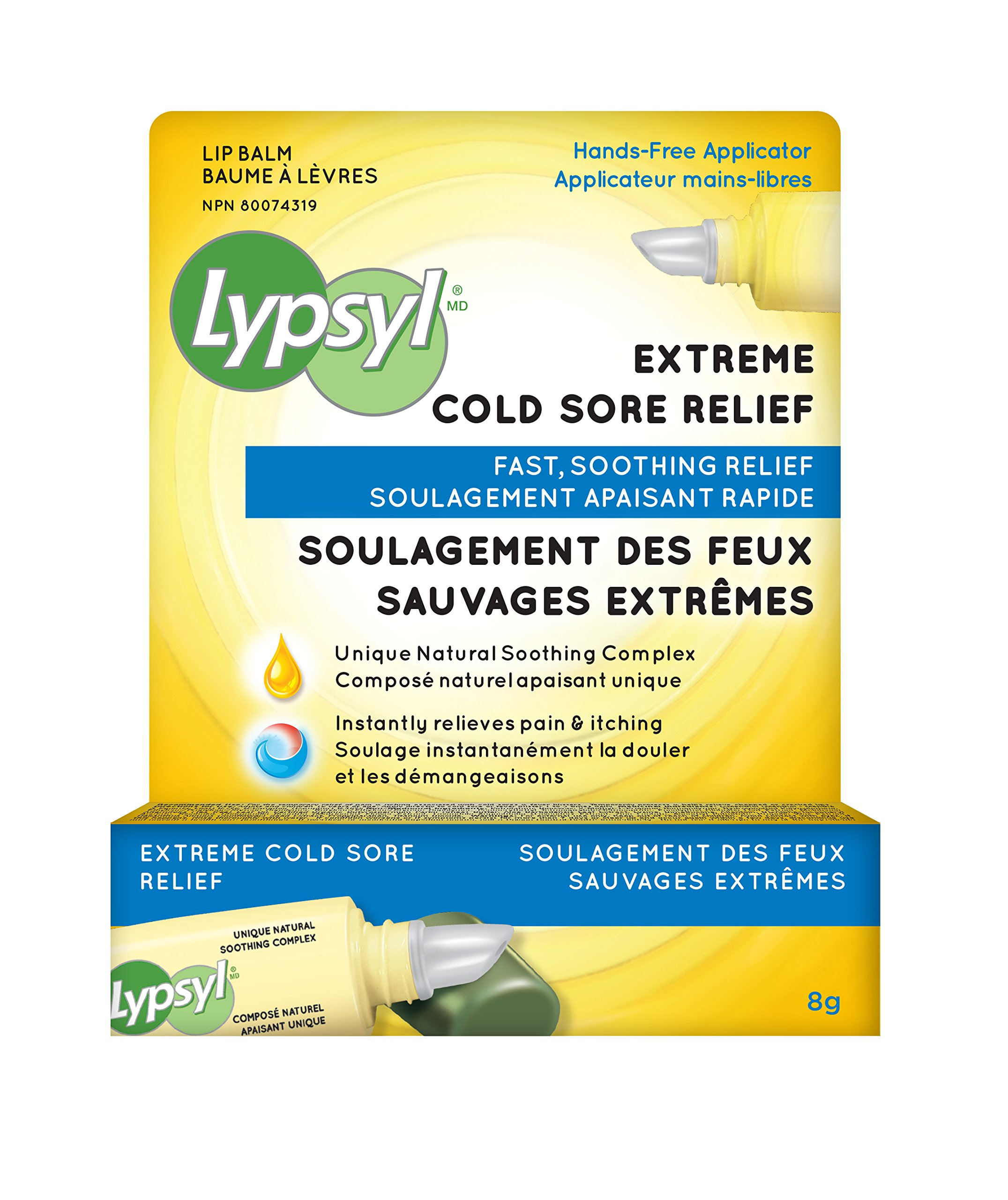 Lypsyl Extreme Cold Sore Relief 2 Tubes by Lypsyl (Image #1)