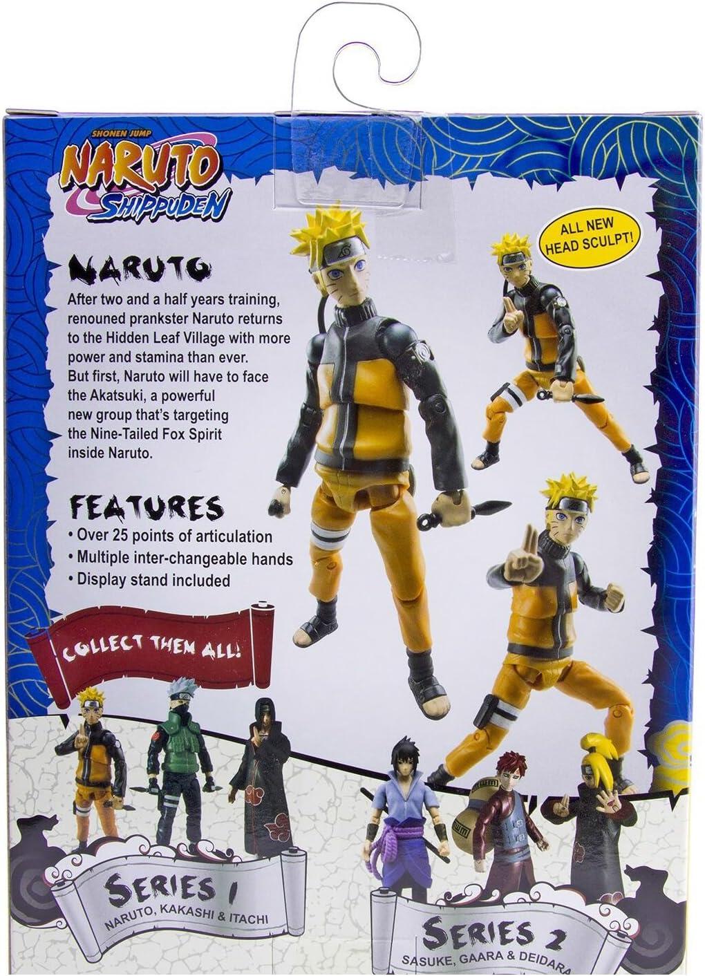 Naruto Poseable Action Figure Wave 1 Itachi Toynami