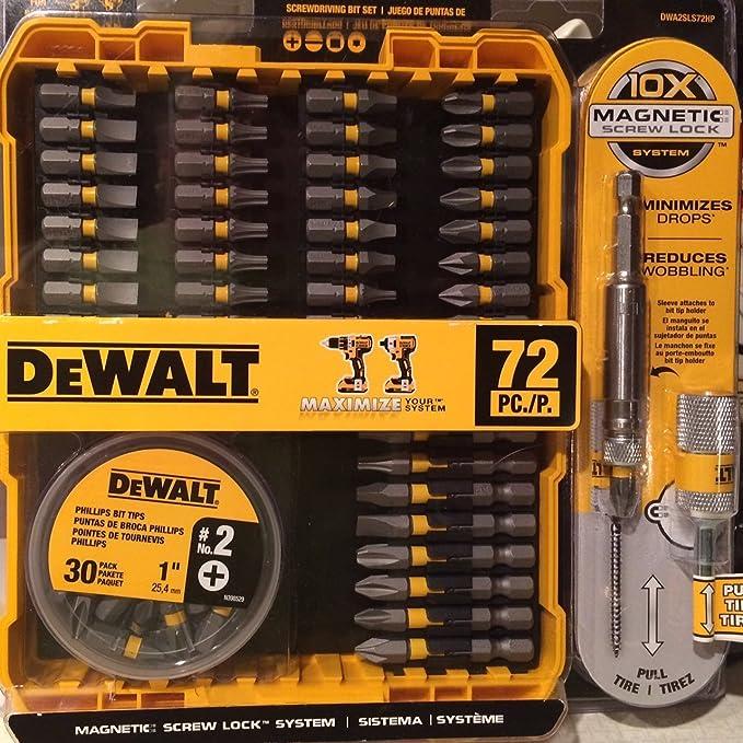 Maxfit Screwdriver Set with Screw Lock (46-Piece)