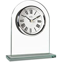 Acctim 36537 Adelaide Reloj de Chimenea, Cristal