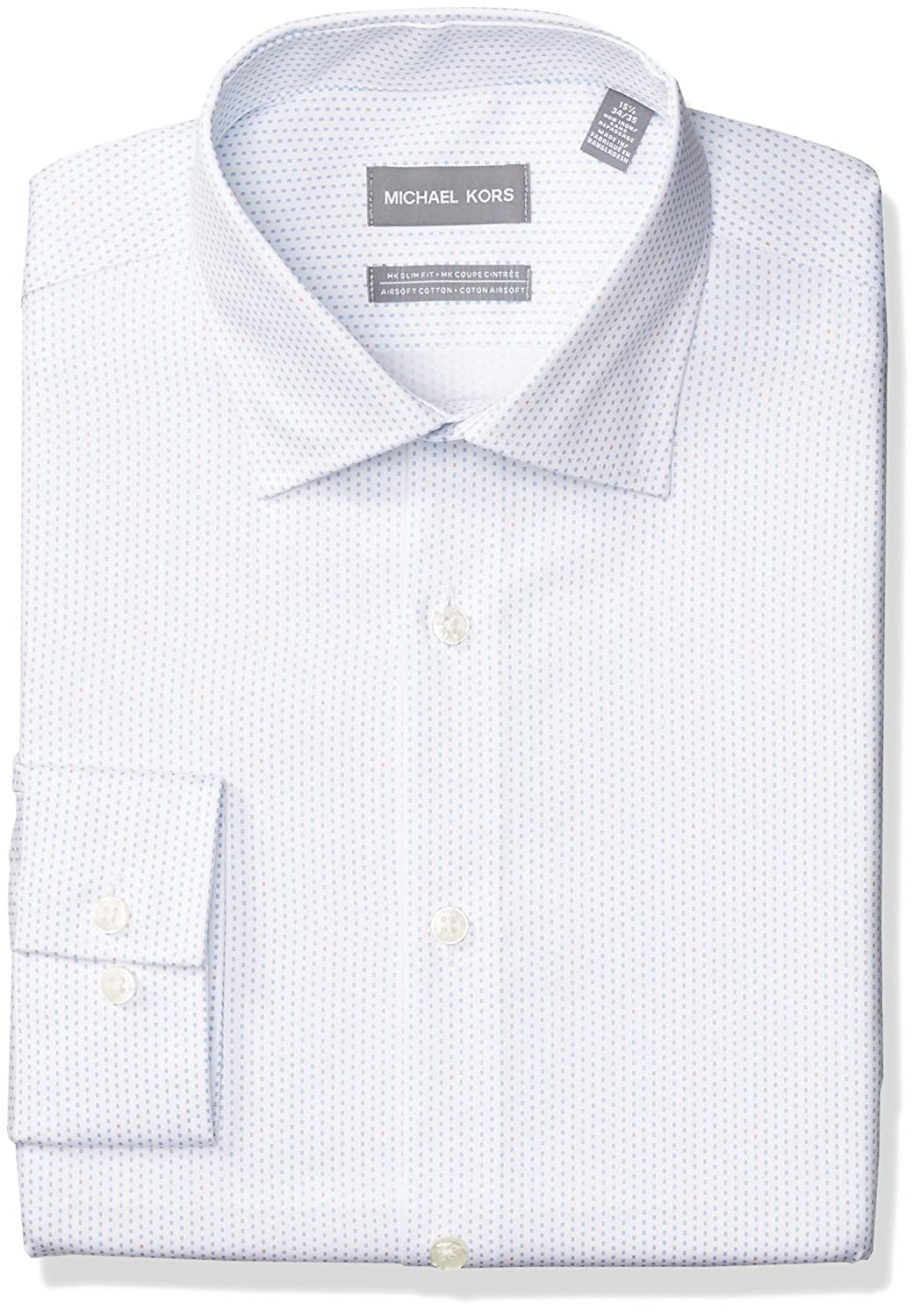 Michael Kors Mens Standard Non Iron Slim Fit Amazon Clothing