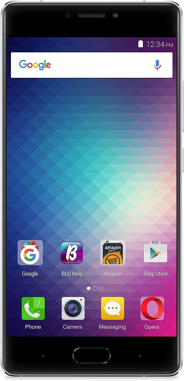 BLU PURE XR Smartphone - 4G LTE GSM Unlocked - 64GB +4GB RAM - Grey