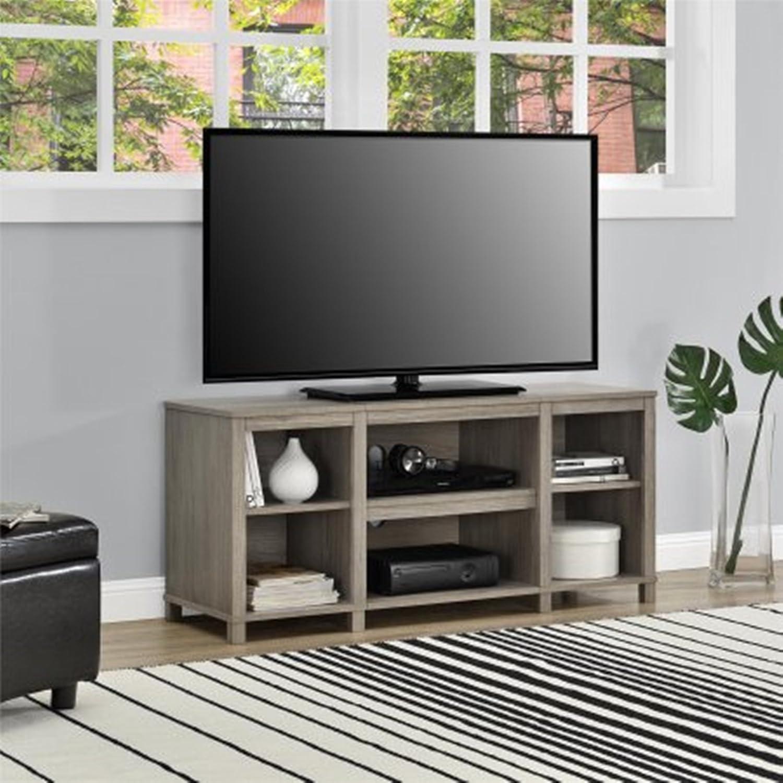 パーソンズCubby TVスタンド、OakFinish   B07F3NVCL5