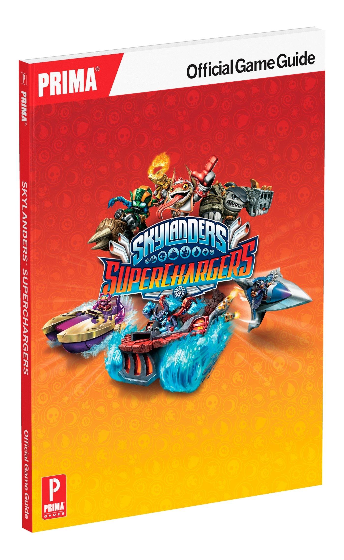 skylanders superchargers official strategy guide standard edition rh amazon co uk Skylanders Spyro's Adventure Skylanders Swap Force