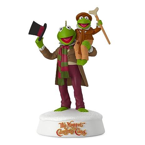 Hallmark Keepsake 2017 The Muppet Christmas Carol 25th Anniversary Sound  Christmas Ornament