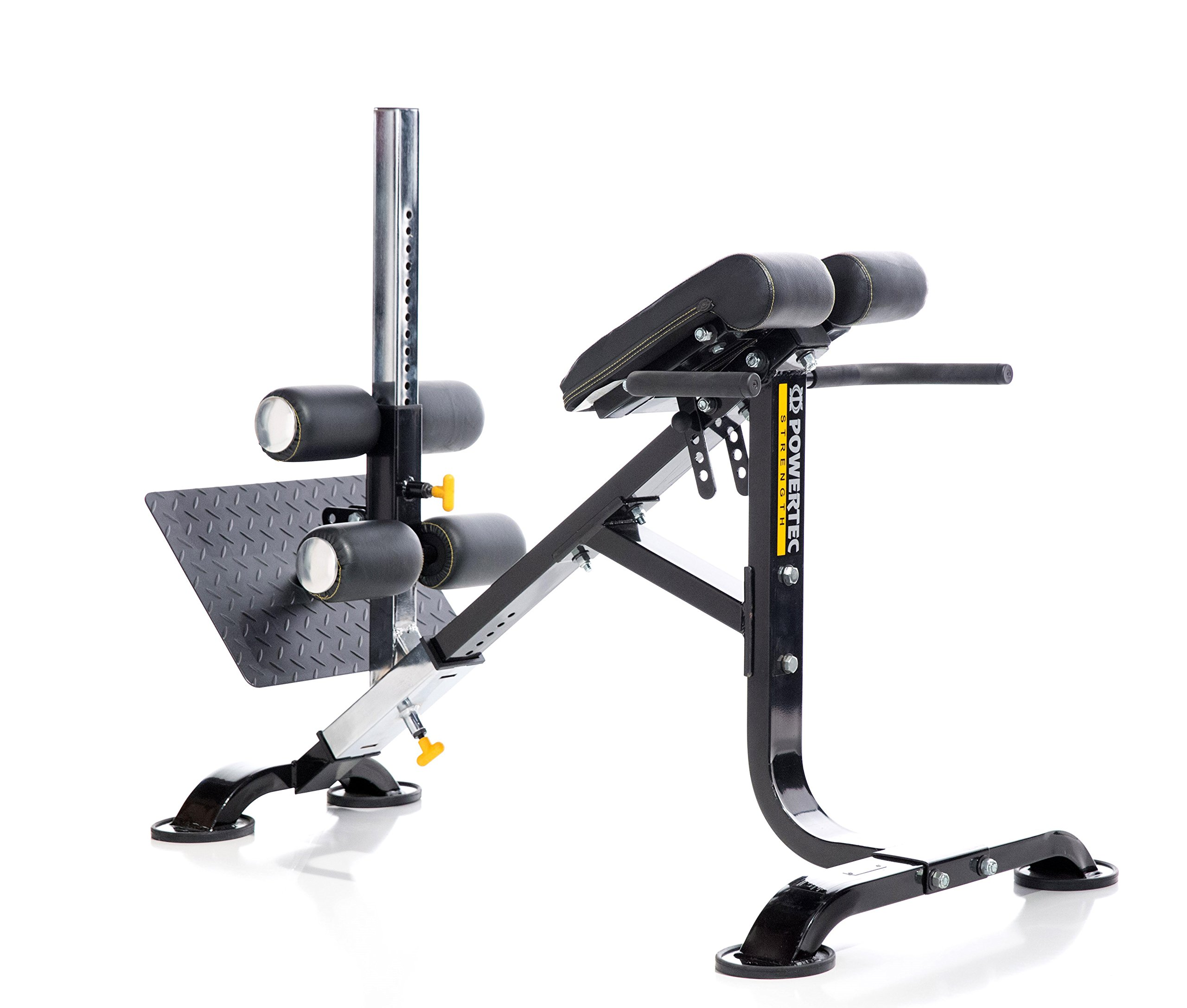 Powertec Fitness Dual Hyperextension/Crunch Powertec Dual Hyperextension/Crunch, Black