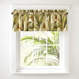 Tommy Bahama Palmiers Drapes, 36 x 45, Green
