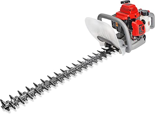 HUYOSEN Cordless Hedge Trimmer, 25CC 23-Inch 2-Stroke Gas Powered Hedge Trimmers Dual Sided Trimmer for Garden and Lawn Care