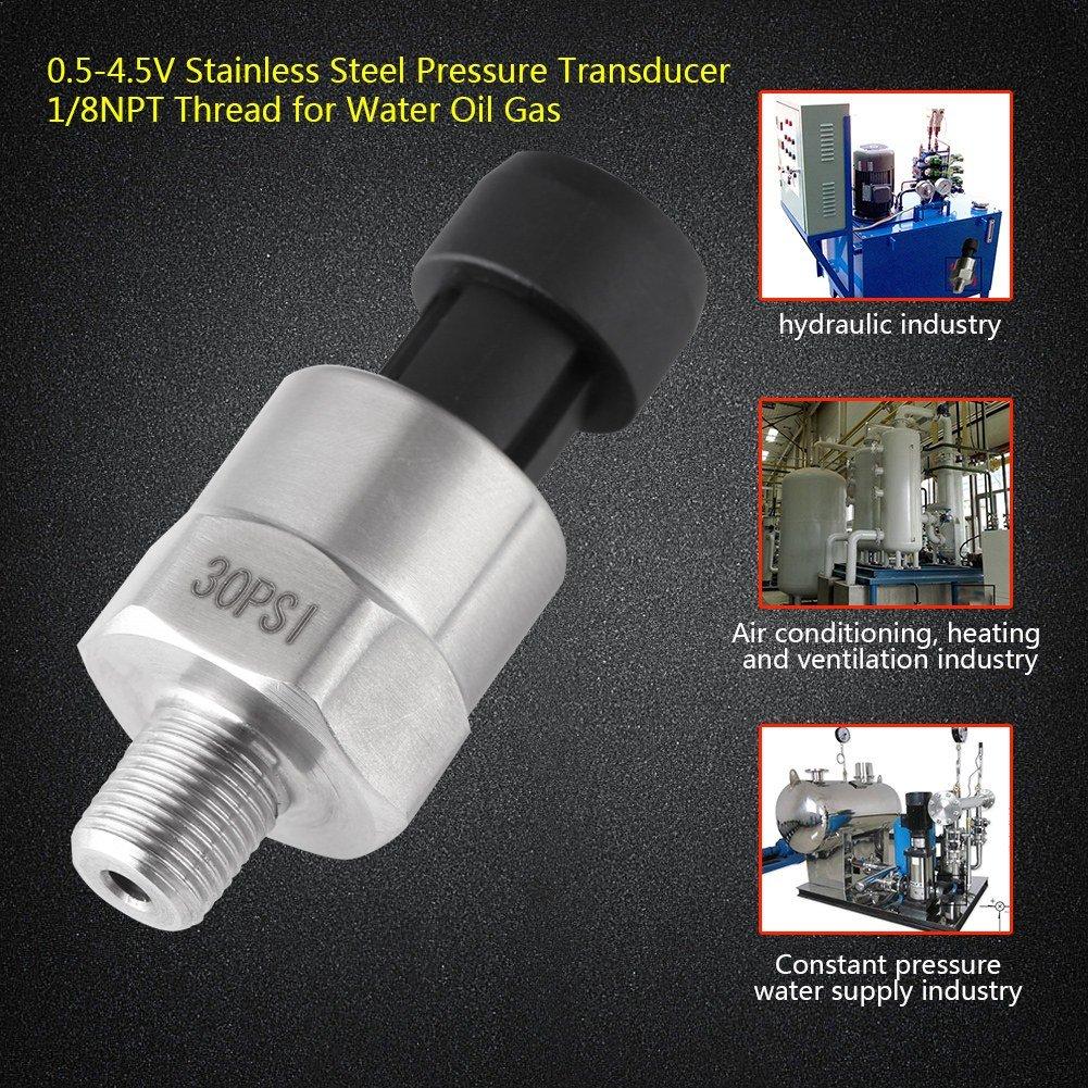 """1//8 /""""NPT Wasser Öl Drucksensor Drucktransmitter Druckmessumformer Druckaufnehmer"""