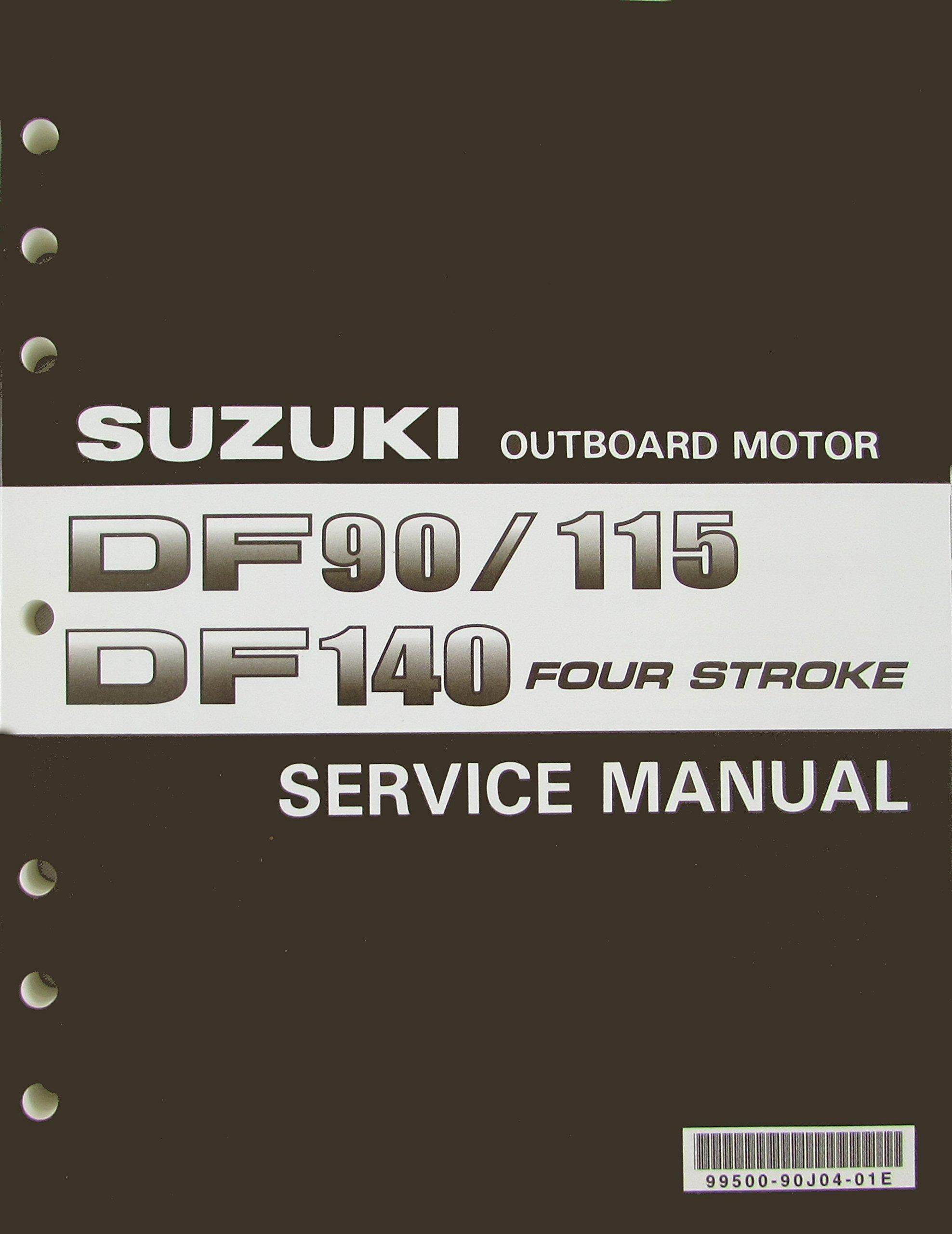 Suzuki Outboard Motor Service Manual: DF90/115, DF140 Four Stroke: Suzuki  Motor Corporation: Amazon.com: Books