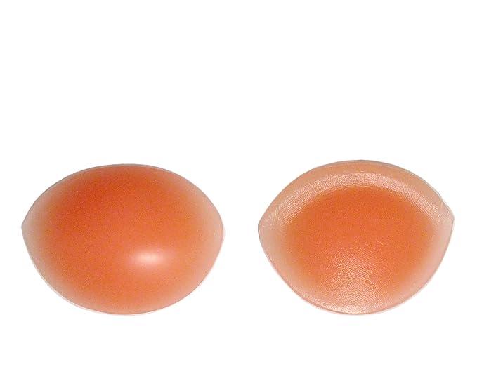 Sodacoda - 260g/Paar - Große Silikon Brust Einlagen - Hautfarbe oder Transparent - Körbchengröße A bis D