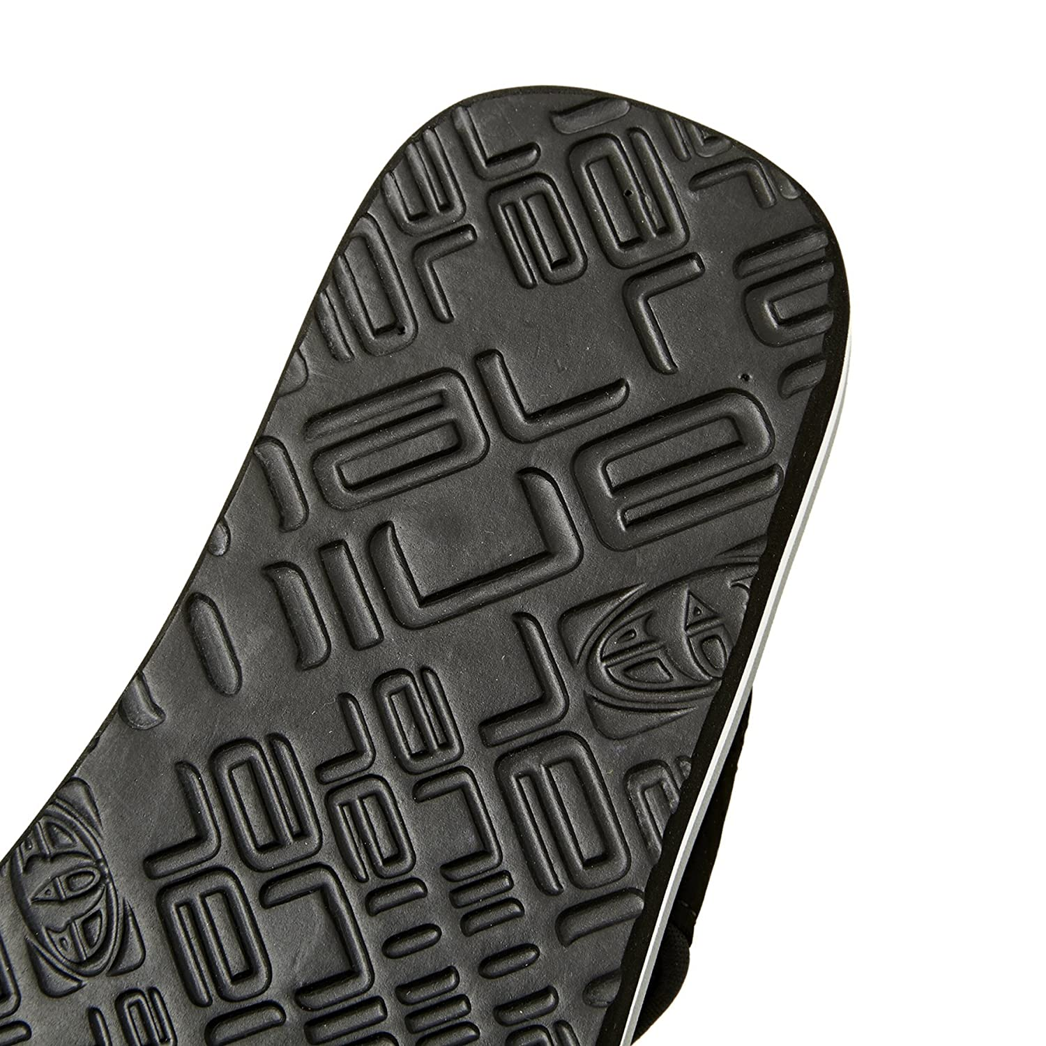 Black 12.5K US Animal Boys Jekyl Logo Slip On Flip Flops