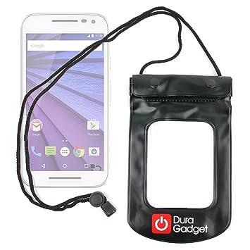 DURAGADGET Bolsa Negra Sumergible En Agua para Motorola Moto G (3ª ...