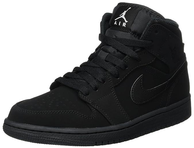 newest 0a0a7 6cccd Nike Air Jordan 1 Mid, Chaussures de Basketball Homme  Amazon.fr   Chaussures et Sacs