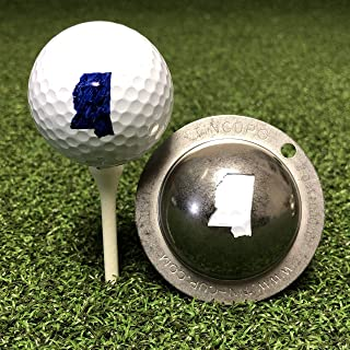 product image for Tin Cup Mississippi State Golf Ball Custom Marker Alignment Tool