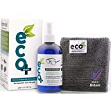 Ecomoist Natural Eyeglass Lens Optical Cleaner Ecofriendly Microfiber Towel UK Product - 250ml