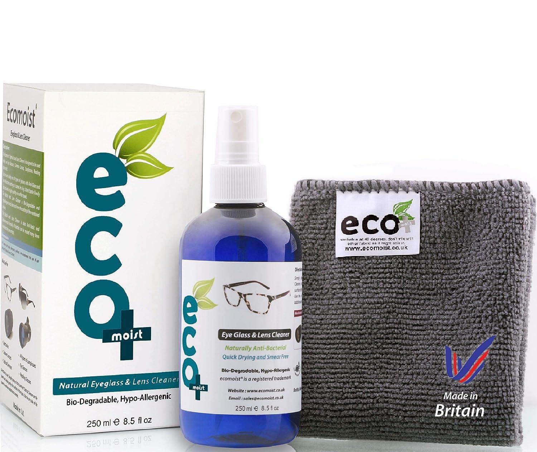 Líquido Limpiador óptico de Gafas y Lentes con toalla de Microfibra Fina 250ml: Amazon.es: Electrónica