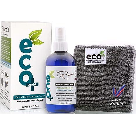 a22dfb47ab902 Ecomoist Kit De Nettoyage Accessoire pour Lunettes Photo et Écrans 250ml
