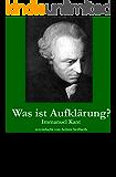 German Easy Reader: Kant - Was ist Aufklärung?