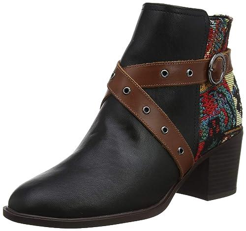 Desigual Damen Alaska Shoes Stiefeletten Tapestry OuwiPkTlXZ