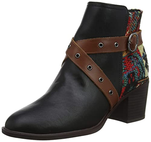 Damen Shoes Desigual Alaska Stiefeletten Tapestry cRAL34jSq5