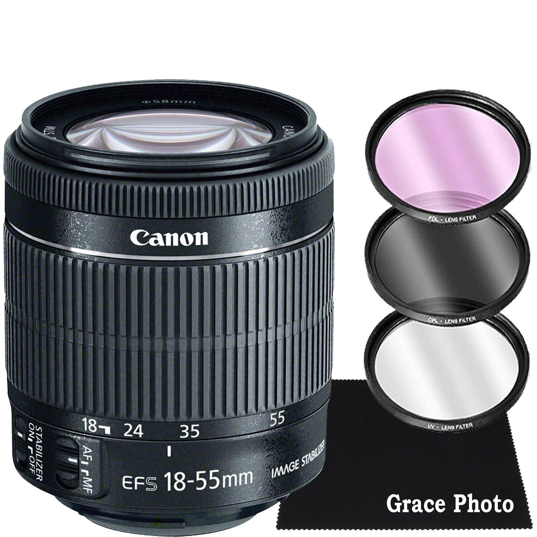 Bubble Level for Canon EF-S 15-85mm f//3.5-5.6 is USM Professional Dual Handle Aluminum 67 Tripod