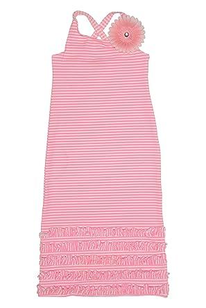 ff21eb1b6008 Amazon.com  Kate Mack Girl s 2-6X Dottie Daisy Maxi Dress