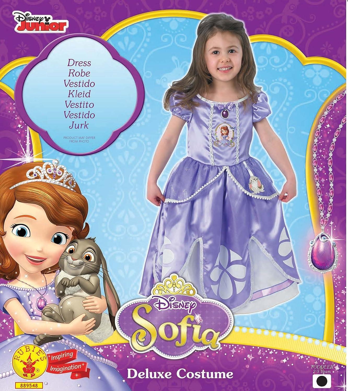 Rubie\'s Edles Disney Sofia die Erste™-Kostüm für Mädchen - 2-3 Jahre ...