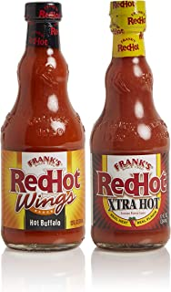 product image for Frank's RedHot Hot Buffalo & Xtra Hot Sauce Variety Pack, 12oz (Pack of 2)