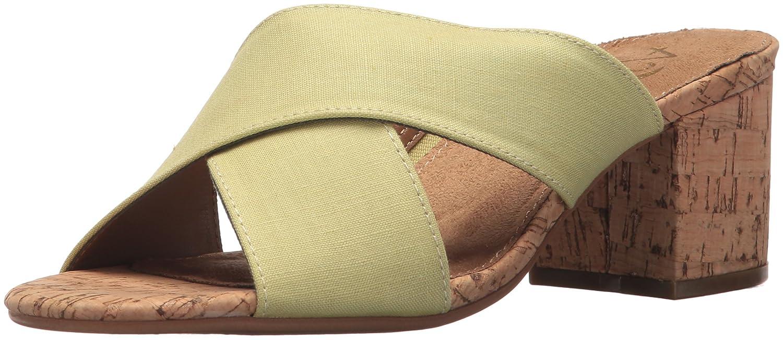 Aerosoles Women's Midday Slide Sandal B076P5WFJ1 7 B(M) US|Light Green Combo