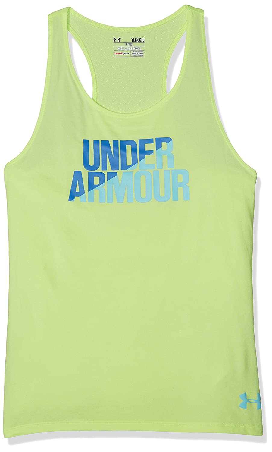 Under Armour UA Tank Camiseta, Niñas, Azul (Pale Moonlight), YXL 1299324