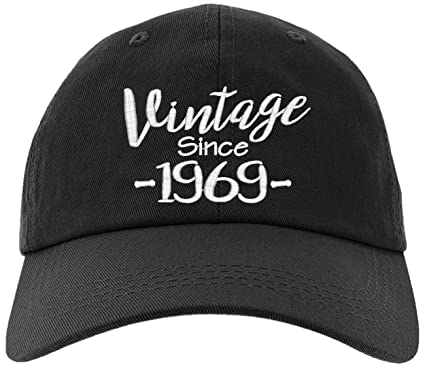 e0e4cf94 Cap 1969-50th Birthday Gift, Vintage Aged to be Perfected Since 1969  Baseball Hat