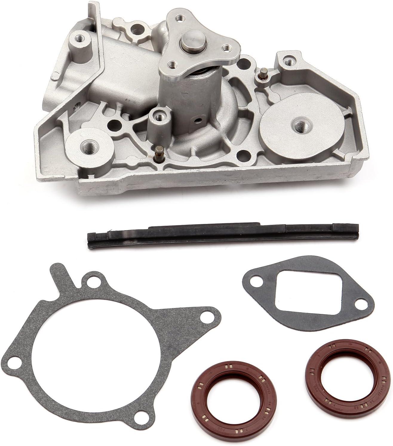 SCITOO Engine Timing Belt Kit Fits 2001-2005 Kia Rio 1.5L 1.6L DOHC 16V Engine A5D A6D