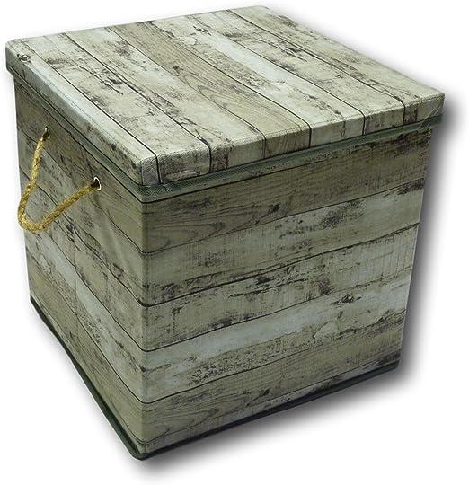 Urban Design - Caja de almacenaje plegable, cajón con tapa y ...