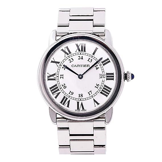 Cartier Desconocido Automatic-Self-Wind Mens Reloj 3603 (Certificado) de Segunda Mano: Cartier: Amazon.es: Relojes