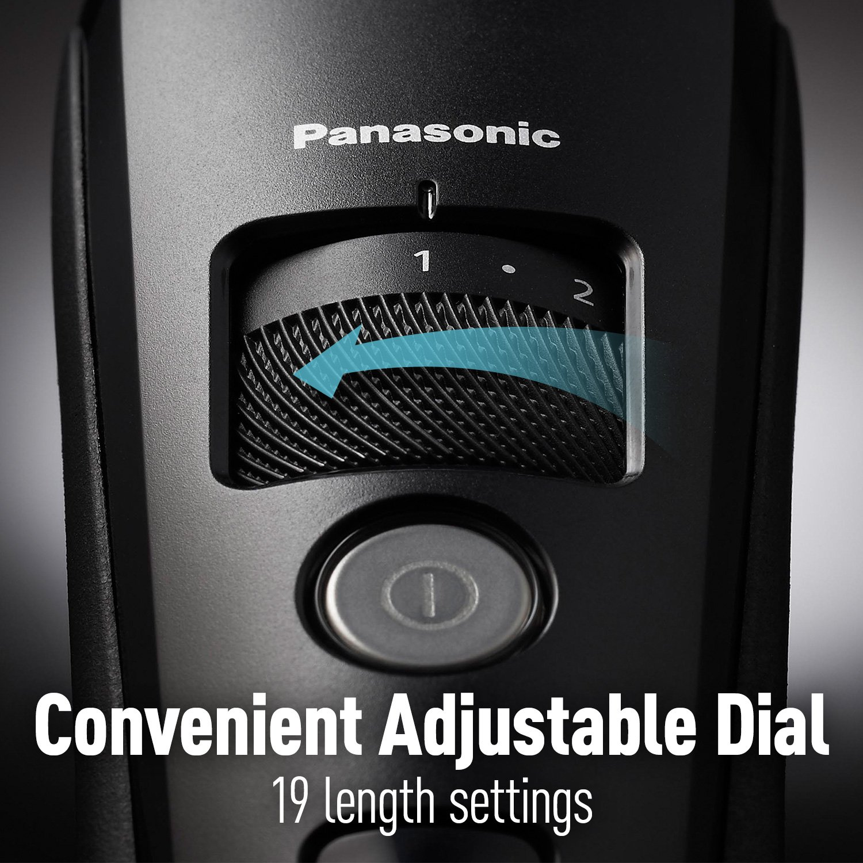 Panasonic Men's Precision + Power Beard Trimmer with Linear Motor Technology, ER-SB40-K – 2017 GQ Grooming Award Winner by Panasonic (Image #4)