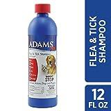 Adams Plus Flea and Tick Shampoo with Precor, 12