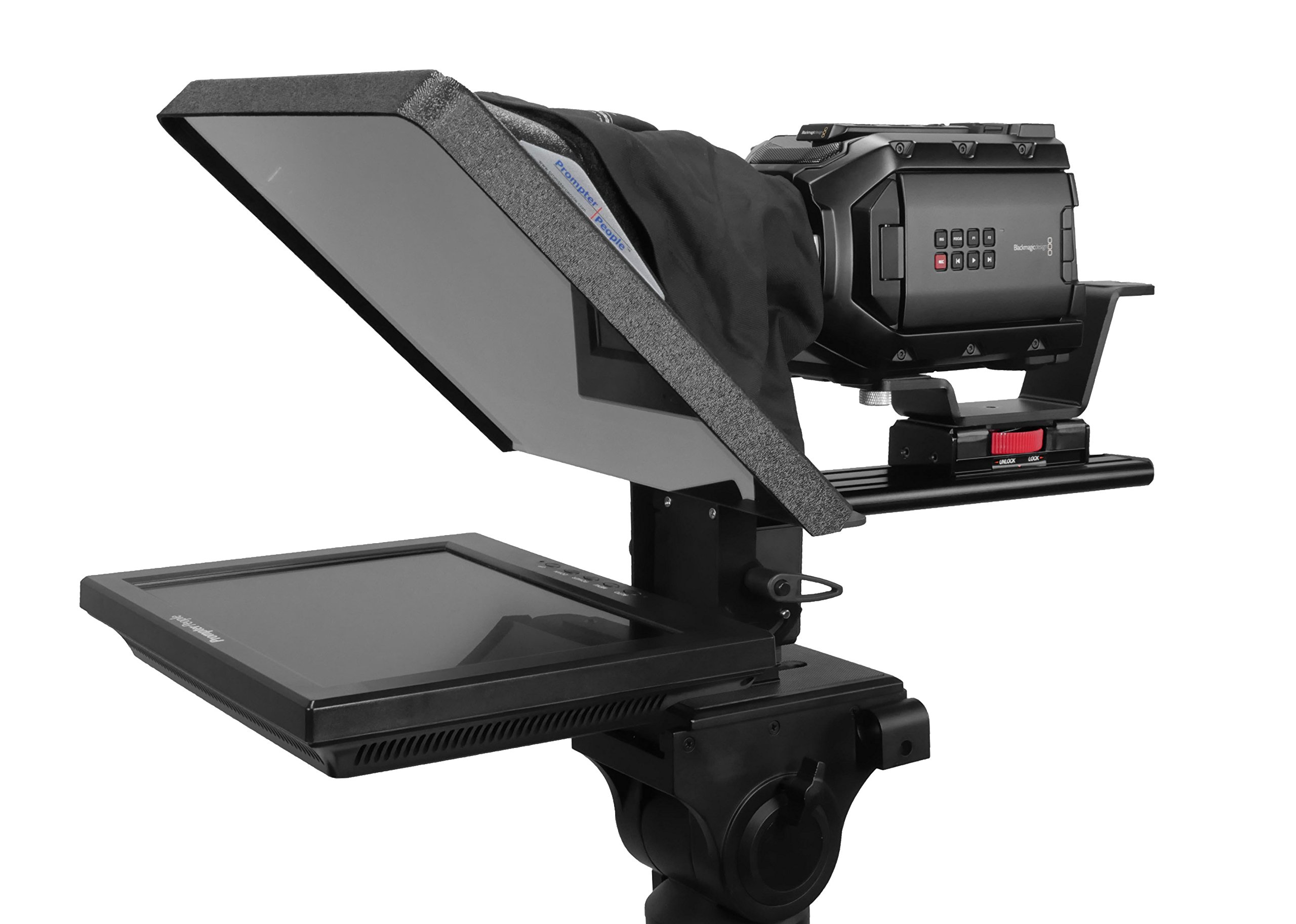 Flex Plus 12'' Teleprompter with reveresing Monitor