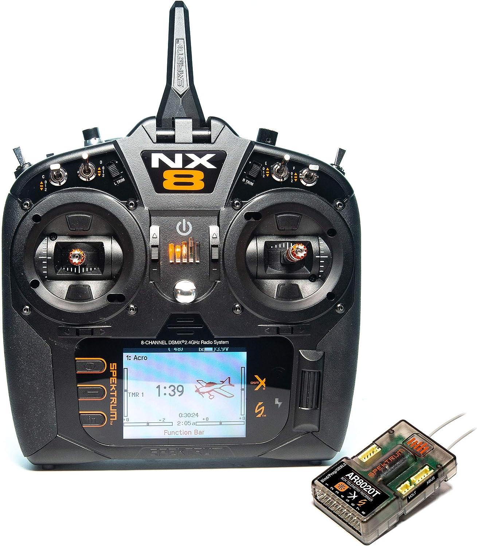 Spektrum NX8 8-Channel DSMX Transmitter with AR8020T Telemetry Receiver, SPM8200