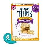 Good Thins Three Cheese Crackers, 3.5oz Box