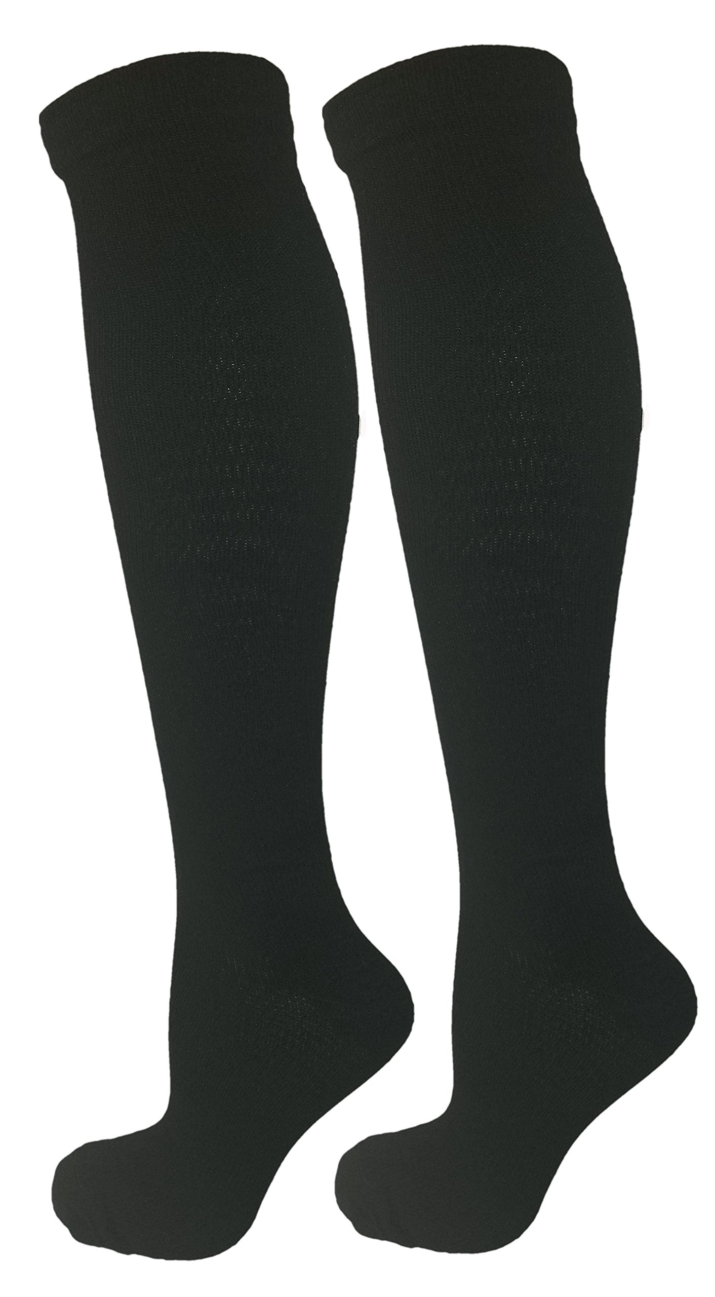 46b0f7511c5 Amazon.com  2 Pair Navy Blue Small Medium Ladies Compression Socks ...