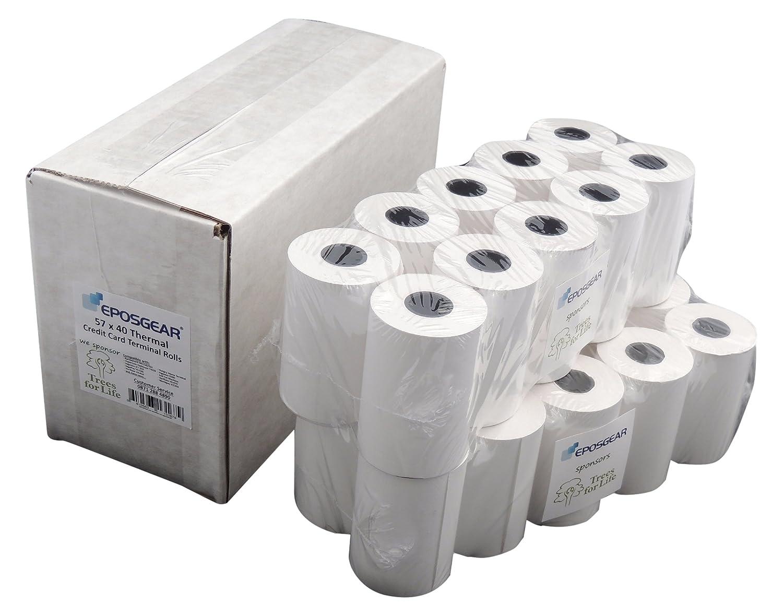 EPOSGEAR 0702334135792 rotoli di carta per registratore di cassa/POS (Confezione da 20 rotoli)