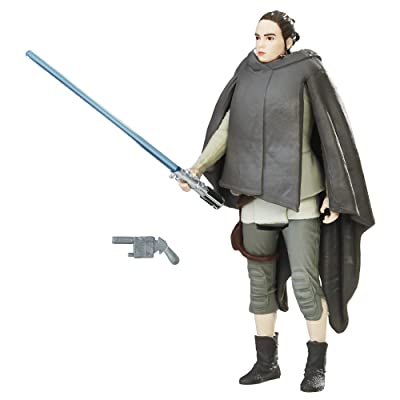 Star Wars Rey (Island Journey) Force Link Figure: Toys & Games